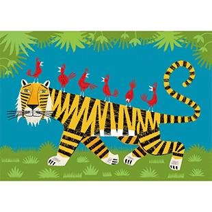 Le tigre Oliver Lake